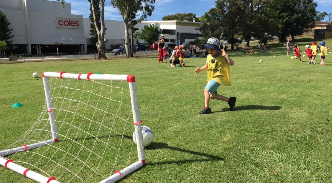 What Can You Learn From Watching a Five Year Old Play Soccer?
